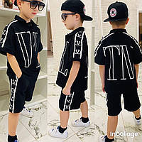Костюм дитячий для хлопчика сорочка+шорти