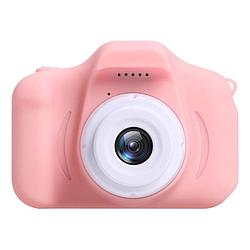 Детский цифровой фотоаппарат Kids Camera X2 Розовый с аккумулятором
