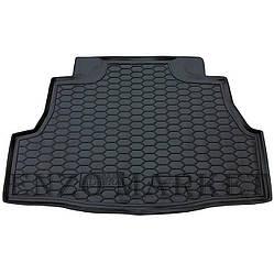 Автомобільний килимок в багажник Nissan Almera Classic 2006- (Avto-Gumm)