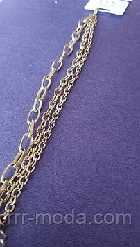 125. Толстые женские браслеты на опт. Цепные браслеты - ювелирная бижутерия оптом.