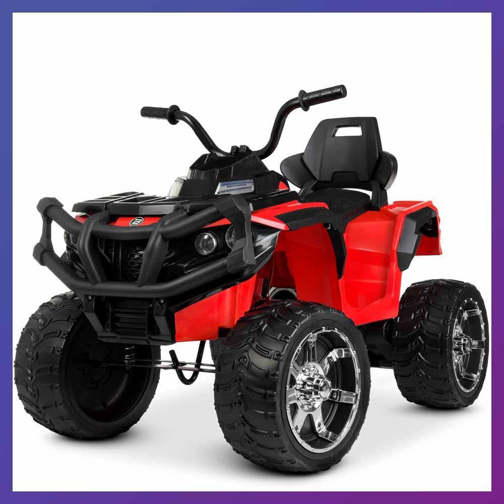 Детский электро квадроцикл на аккумуляторе Bambi M 4266 для детей 3-8 лет красный