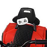 Детский электро квадроцикл на аккумуляторе Bambi M 4266 для детей 3-8 лет красный, фото 4