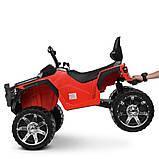 Детский электро квадроцикл на аккумуляторе Bambi M 4266 для детей 3-8 лет красный, фото 5