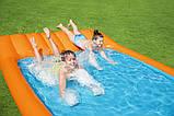 Детский надувной игровой центр с бассейном и горкой Bestway 53080, фото 4