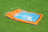 Детский надувной игровой центр с бассейном и горкой Bestway 53080, фото 5