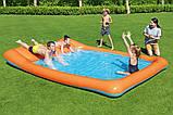 Детский надувной игровой центр с бассейном и горкой Bestway 53080, фото 6