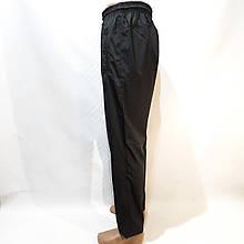 Летние мужские спортивные штаны Puma (Пума) реплика прямые без подкладки Черные