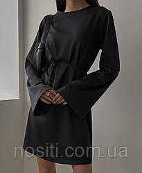 Женское шёлковое платье