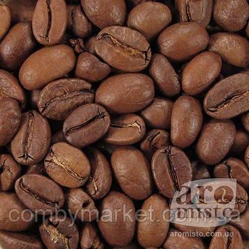 Кава смажена в зернах арабіка Індія Плантейшн A 100g