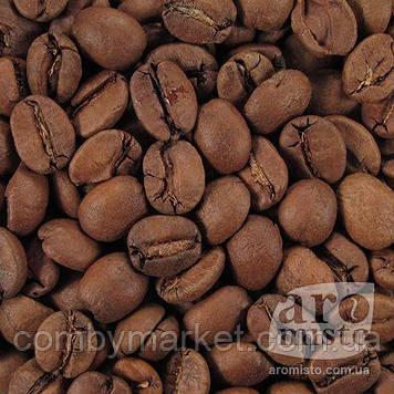 Кава смажена в зернах арабіка Бразилія Сантос 100g