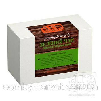 Дегустаційний набір Зелений ароматизований чай 20 х 10g