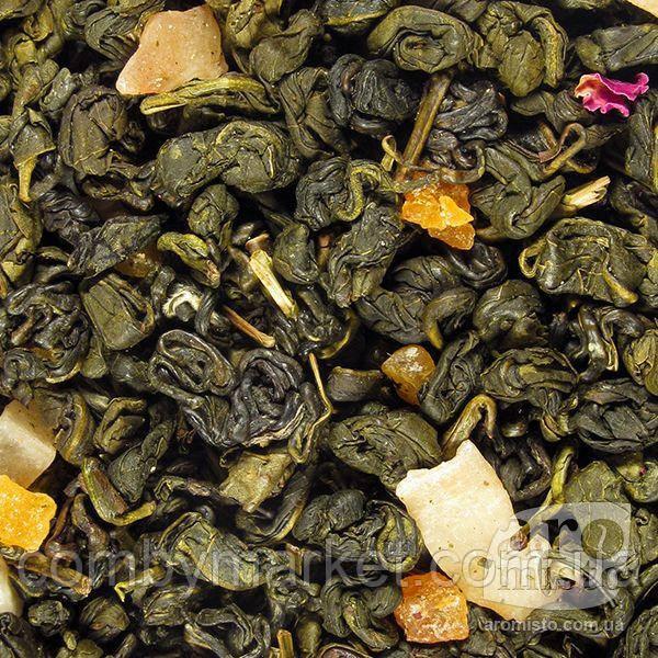 Зелений ароматизований чай Абрикосовий джем 50g