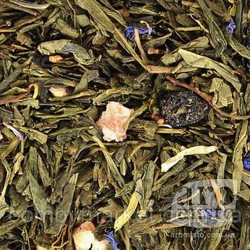 Зелений ароматизований чай Бризки шампанського 50g