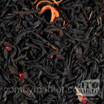 Чорний ароматизований чай Гранатовий 50g