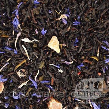 Чорний ароматизований чай Бризки шампанського 50g