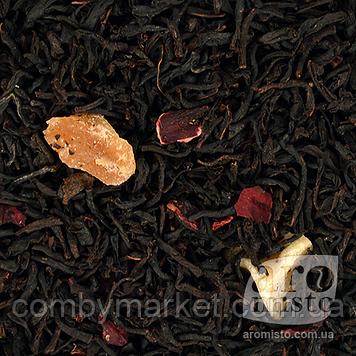 Чорний ароматизований чай Вишневий 50g