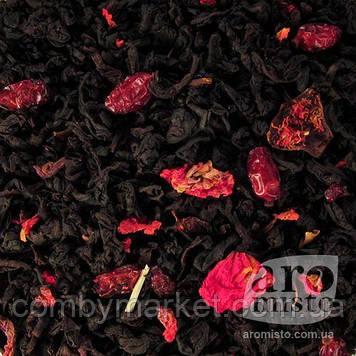 Чорний ароматизований чай Барбарис 50g