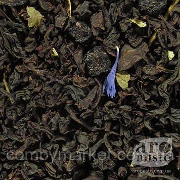 Чорний ароматизований чай Лохина 50g