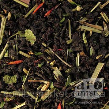 Чорний ароматизований чай Чорний з м'ятою 50g