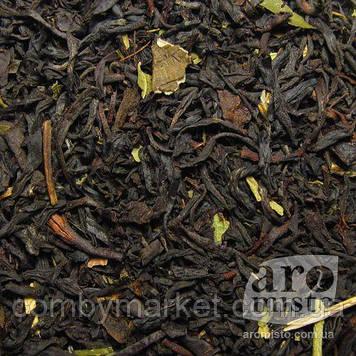 Чорний ароматизований чай Зимова вишня 50g