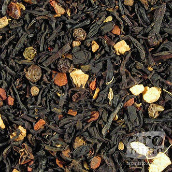 Чорний ароматизований чай Айюрведа-чай 50g
