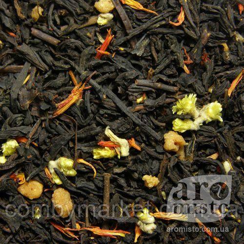 Чорний ароматизований чай До великодня 50g