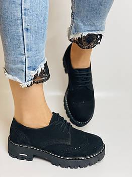 Женские  туфли броги .Турция.  Размер 36, 38