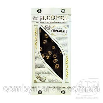"""Шоколад чорний """"Leopol"""" золота кава 95g"""