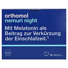 Витамины Orthomol Nemuri Night Granulat Ортомол Немури Ночь Гранулы