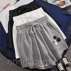 Женские летние шорты с Микки Маусом