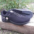 Кросівки чоловічі Bonote р. 44 текстиль чорні, фото 2