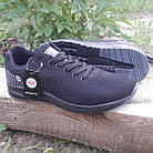 Кроссовки мужские Bonote р.43 текстиль чёрные, фото 2