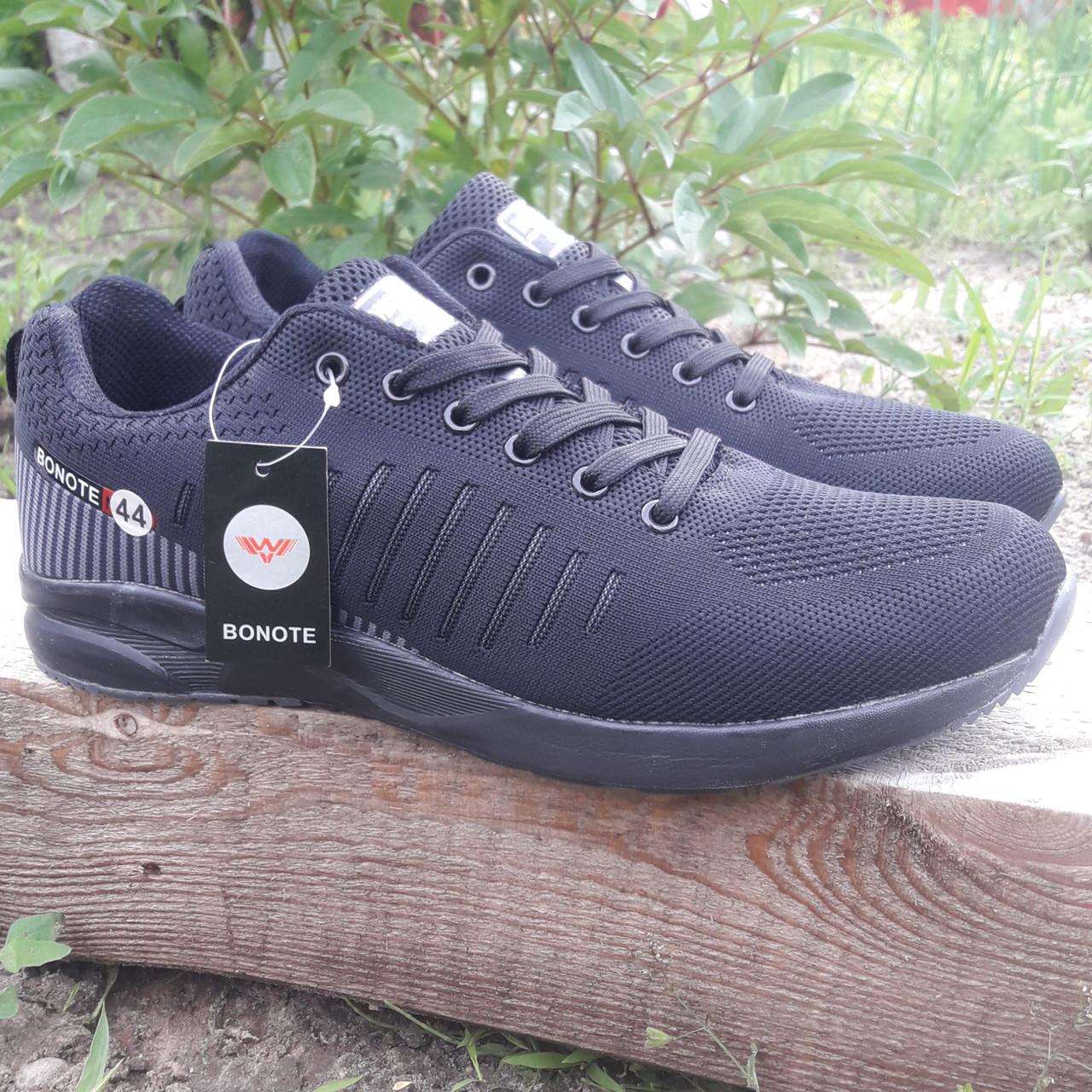Кросівки чоловічі Bonote р. 43 текстиль чорні