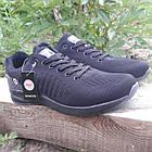 Кросівки чоловічі Bonote р. 43 текстиль чорні, фото 3