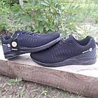 Кроссовки мужские Bonote р.43 текстиль чёрные, фото 5