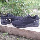 Кроссовки мужские Bonote р.43 текстиль чёрные, фото 6