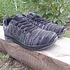 Кроссовки мужские Bonote р.41 текстиль чёрные, фото 3
