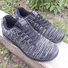 Кросівки чоловічі Bonote р. 41 текстиль чорні, фото 4