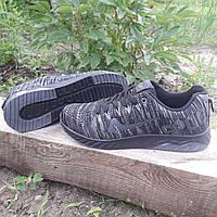 Кроссовки мужские Bonote р.42 текстиль сетка чёрные