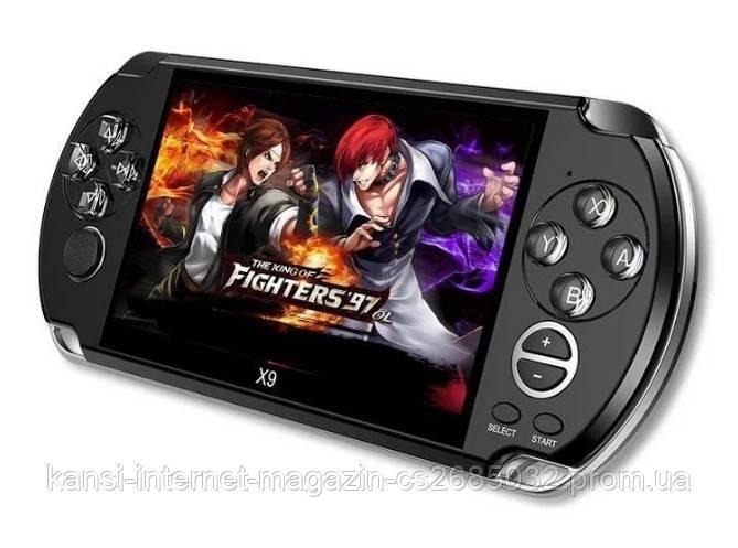Портативна приставка PSP X9 ігрова консоль