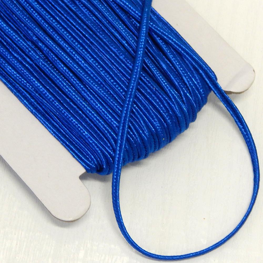 Шнур сутажный 3 мм, синий