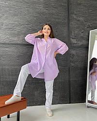 Рубашка Лагуна лаванда