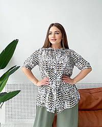 Блуза Тіфані мозаїка