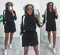 """Костюм 2-ка жіночий річний сорочка+шорти, розмір 42-46 (4кол) """"ASSORTI"""" недорого від прямого постачальника"""