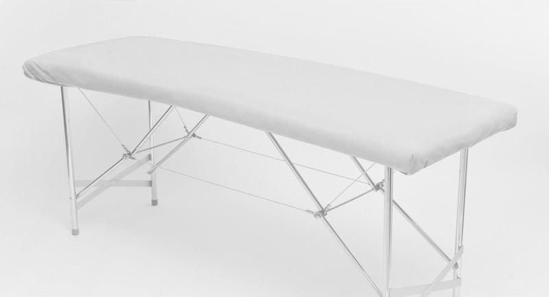 Чехол на кушетку одноразовый с спанбонда Panni Mlada, 0,8х2,1 Белый