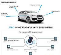 Автомобильный диагностический сканер Автосканер Автодиагностика ELM327 OBD2 Super mini Bluetooth ver.1.5