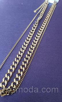 70. Толстые цепи позолоченные на опт. Ювелирная бижутерия оптом.