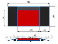 Платформы задние сдвижные ПЗС-810385