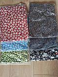 Стильная женская юбка миди  с разрезом ( цветочный принт, леопард, горох) красная, зеленая, черная, голубая, фото 10