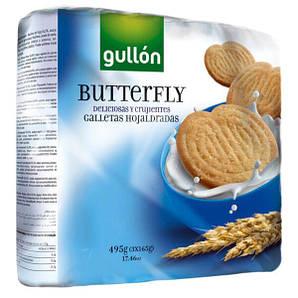 Печенье GULLON Butterfly, 495 г (3 * 165 г)